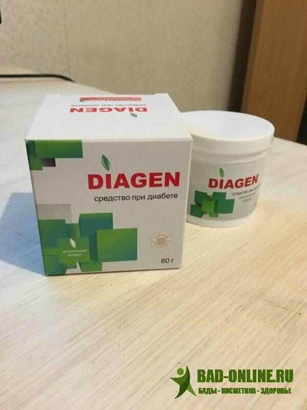 Diagen от диабета в Урене