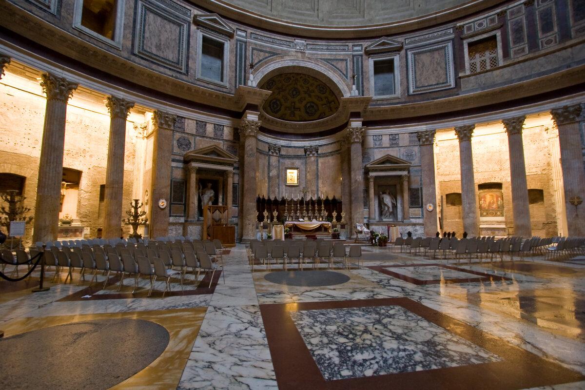 пантеон древний рим картинки