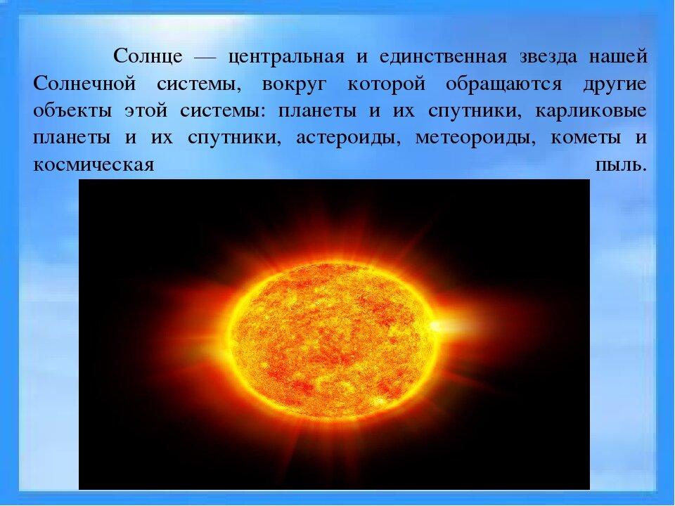 сообщение о солнце с картинками объявлений