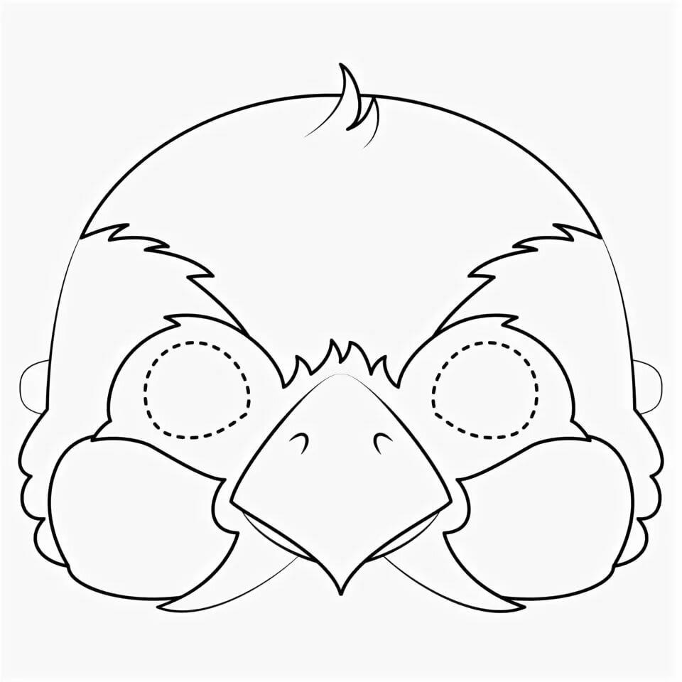 Картинки маска воробей