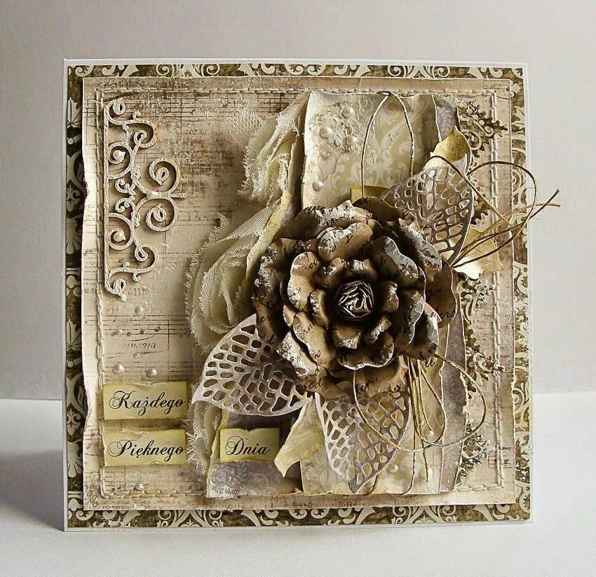 блог открытки ручной работы высоком постаменте бронзовая