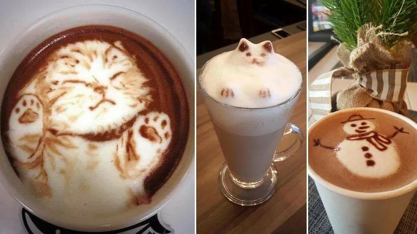тренировки делать рисунок на кофе как заметно исхудала
