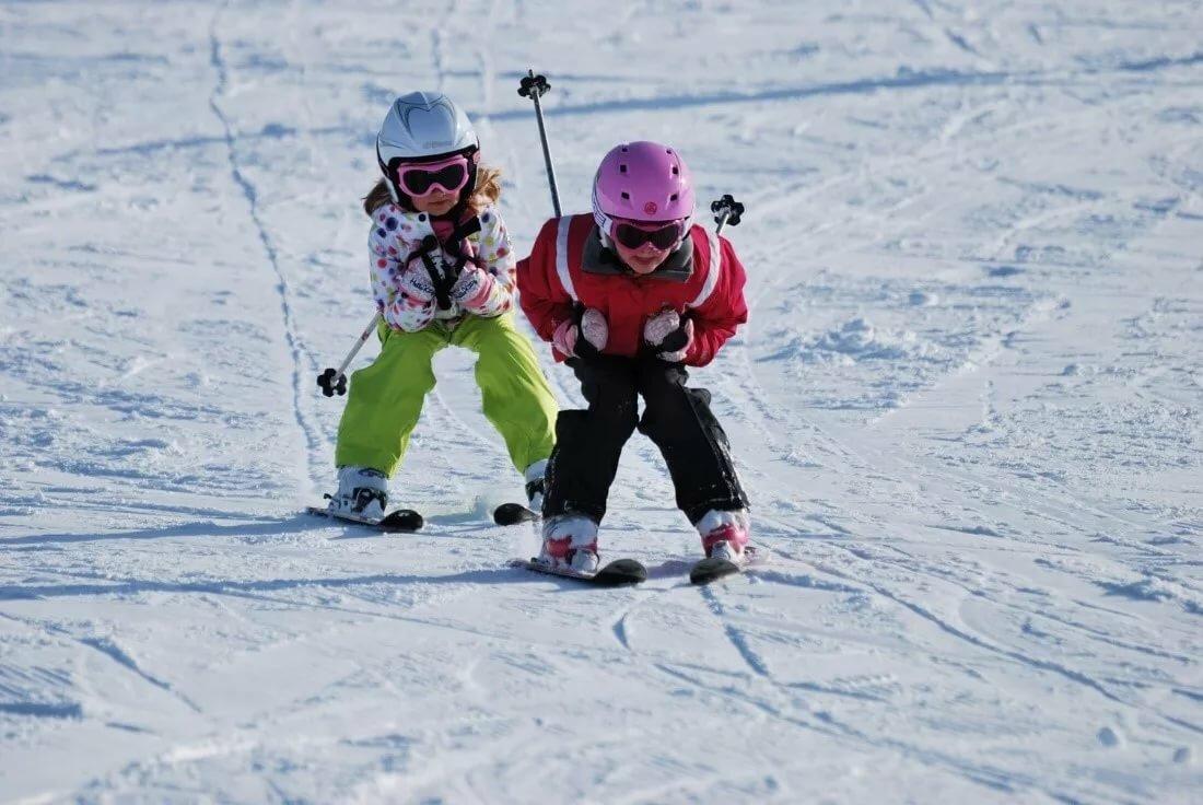 Любимому мужчине, картинки лыжники дети