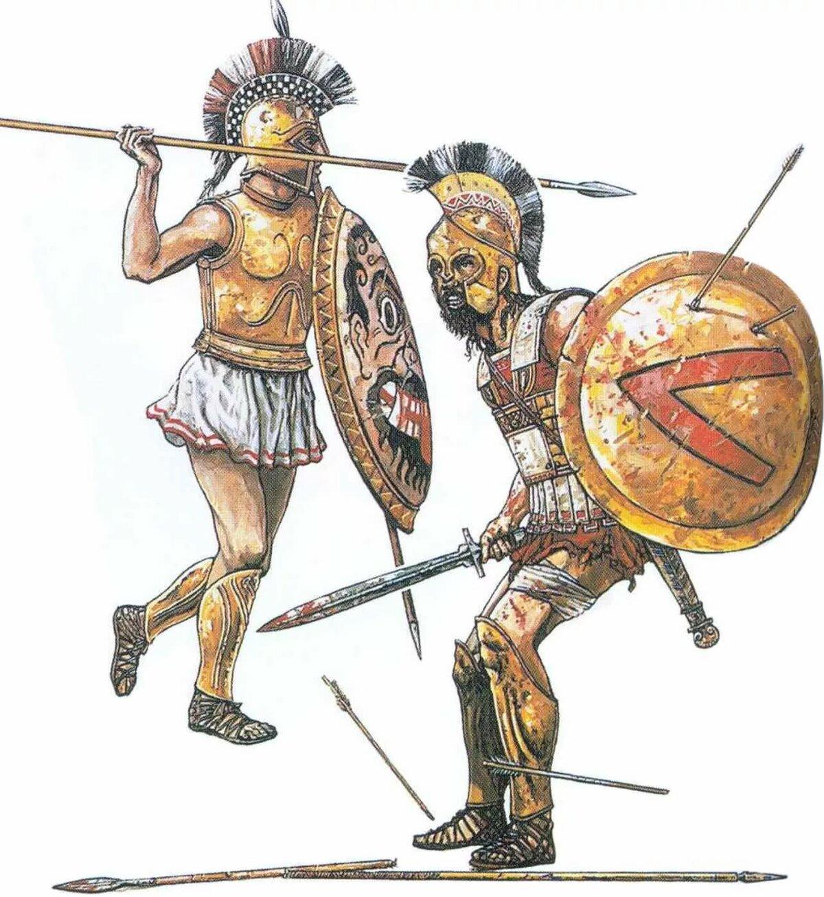 Картинки войнов древней