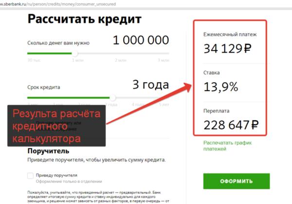 Кредит онлайн расчет отп банк красноярск банки где можно взять кредит