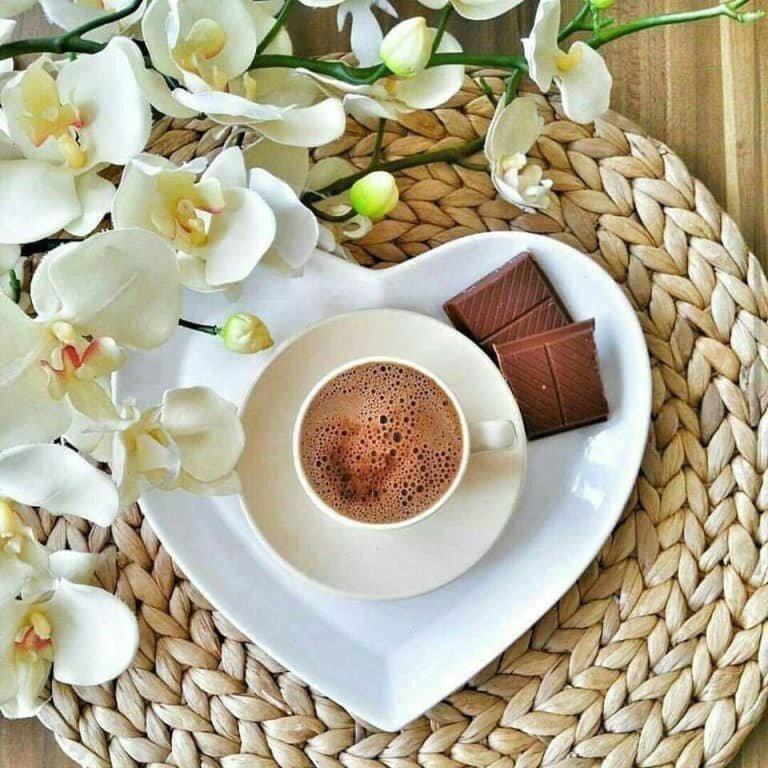 японии картинка доброе весеннее утро с чашкой кофе дитковските