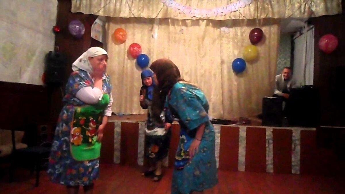 Сценка поздравлений от ново русских бабок