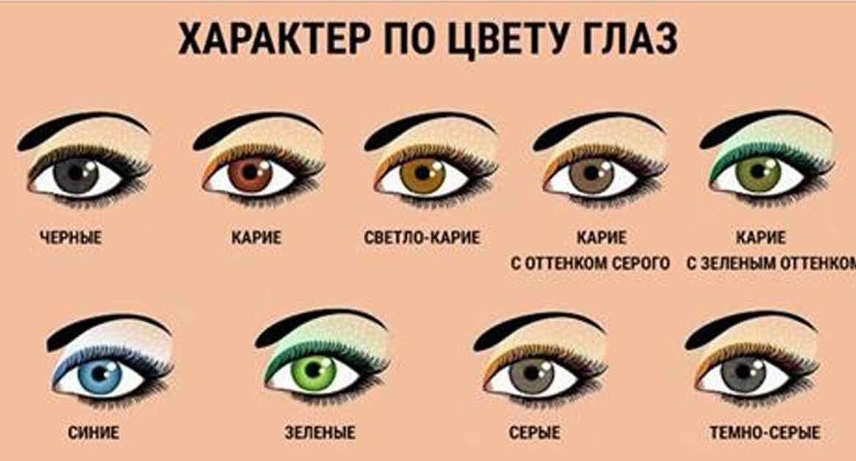 Физиогномика глаза в картинках значение