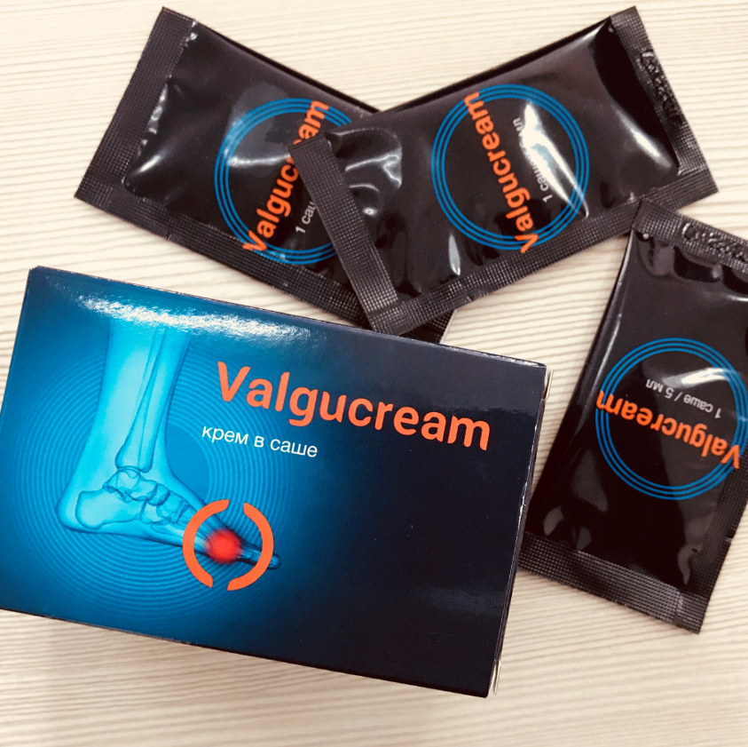 Valgucream - крем от вальгусной деформации в Черноголовке