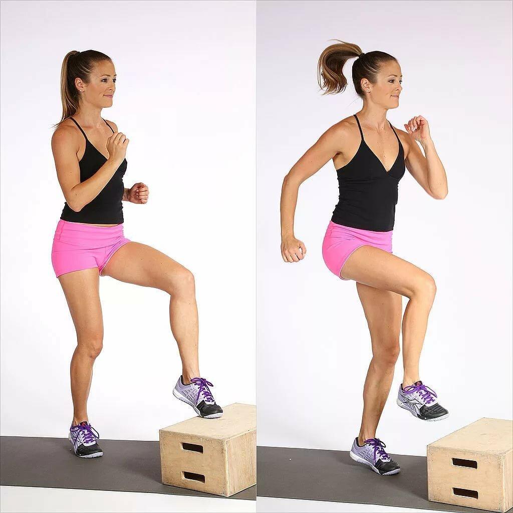 тренировка на степ платформе для похудения