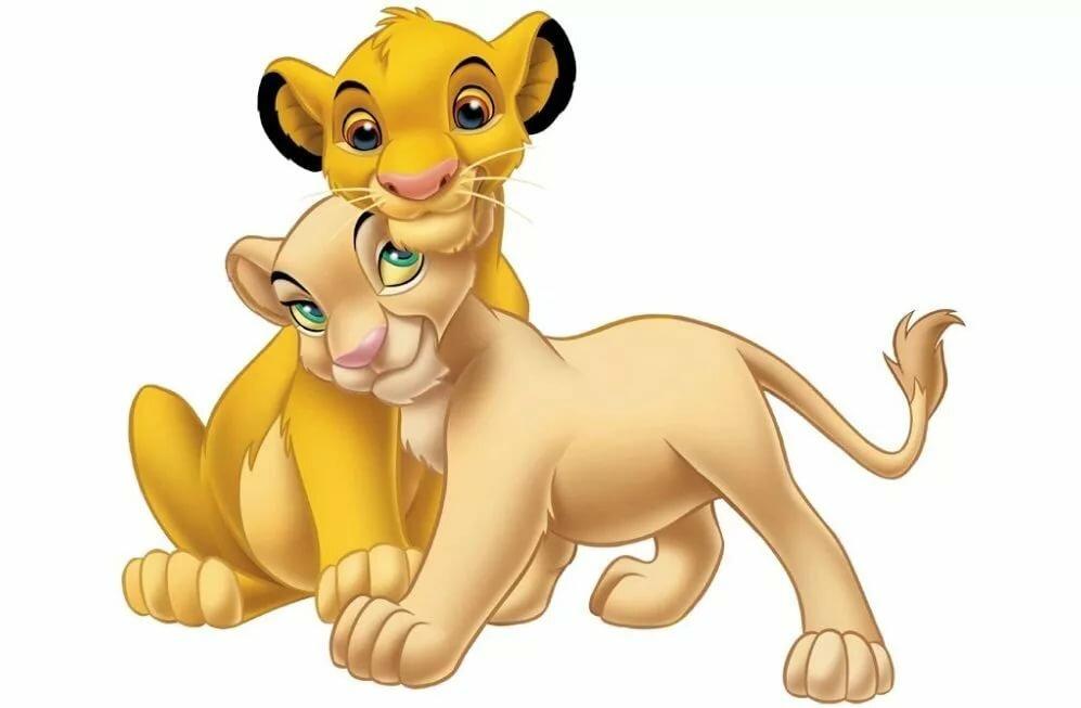 Картинка король лев симба