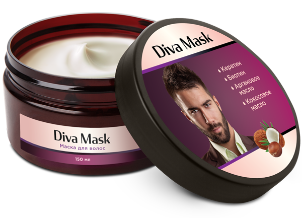 Diva Mask для укрепления и здоровья волос в Якутске