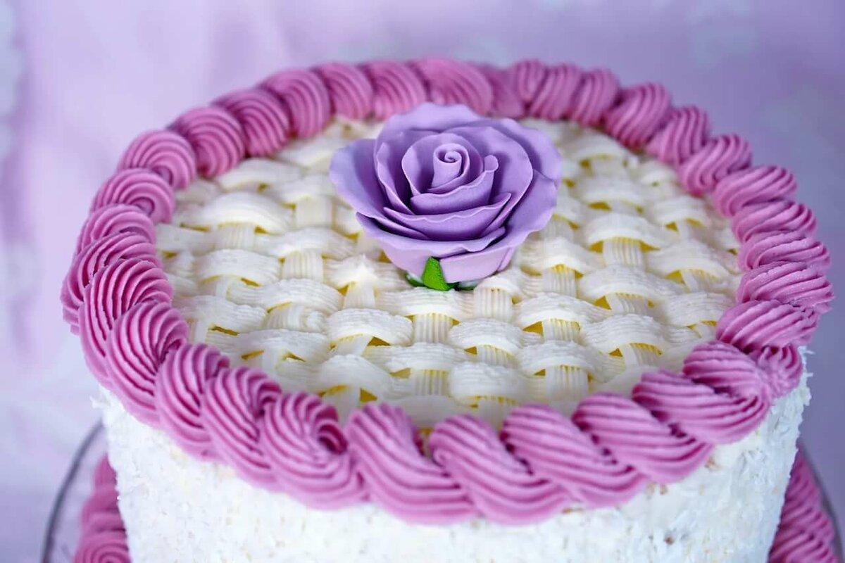 Фото кремовых тортов для начинающих