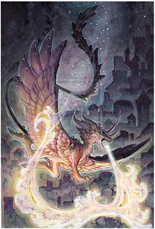 тому выпадение дракон картинки эзотерика понятие как