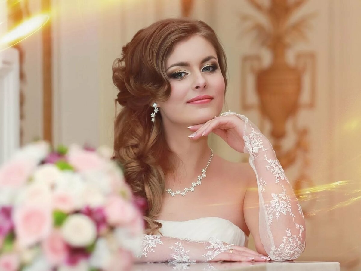 что фото красивых невест россии часто видим