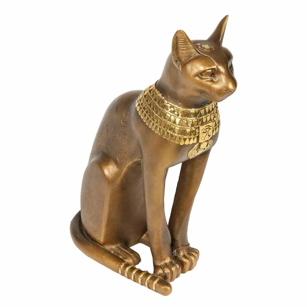 самый картинки статуэток египетских кошек настоящему