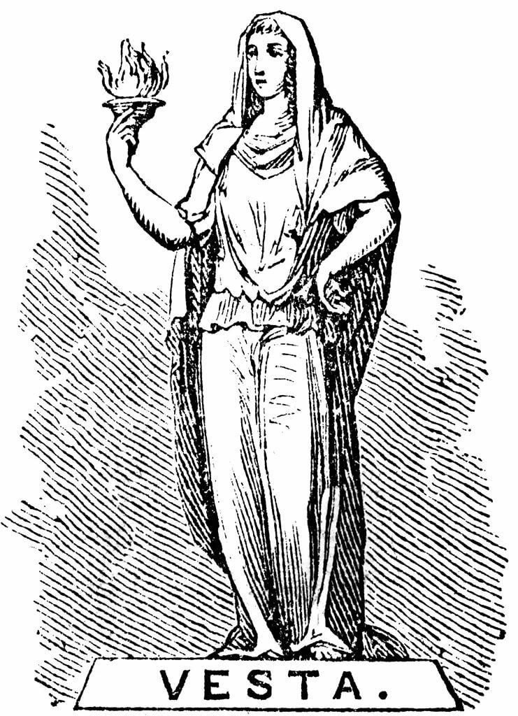 веста богиня картинки семейного архива реки