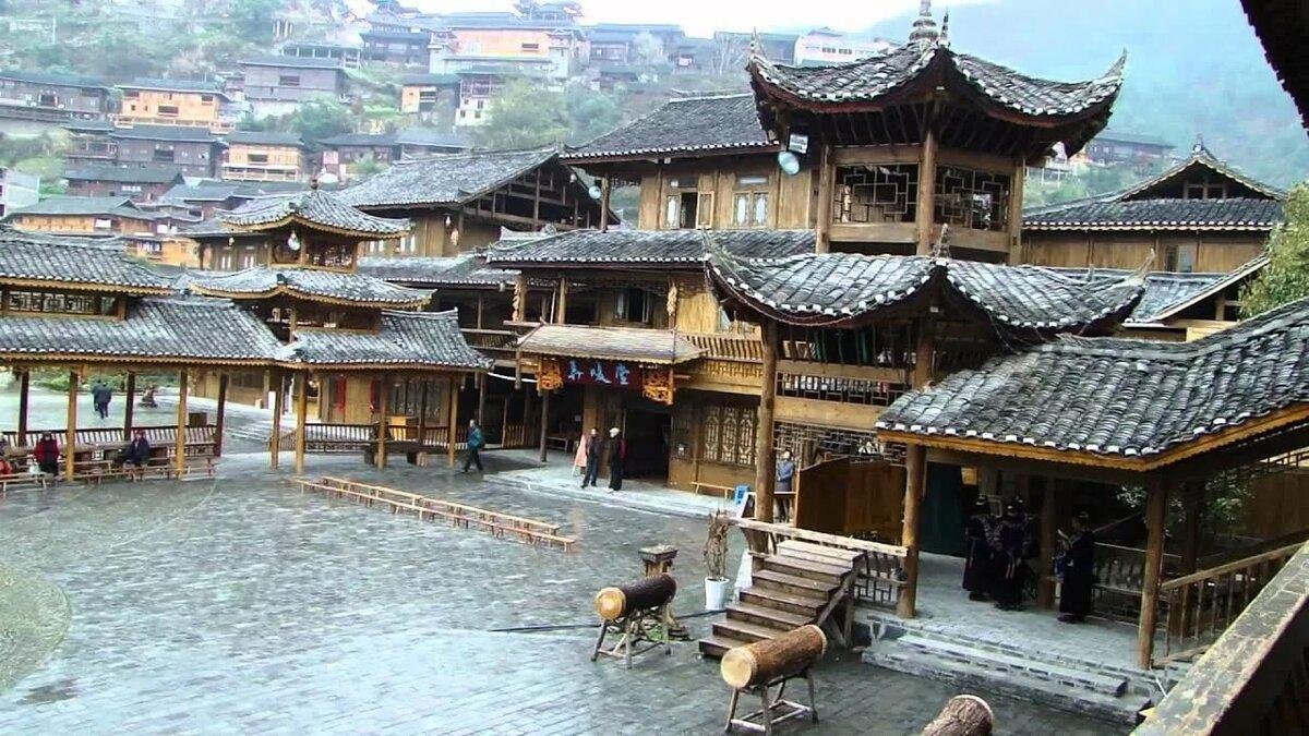 Китайская деревня в картинках