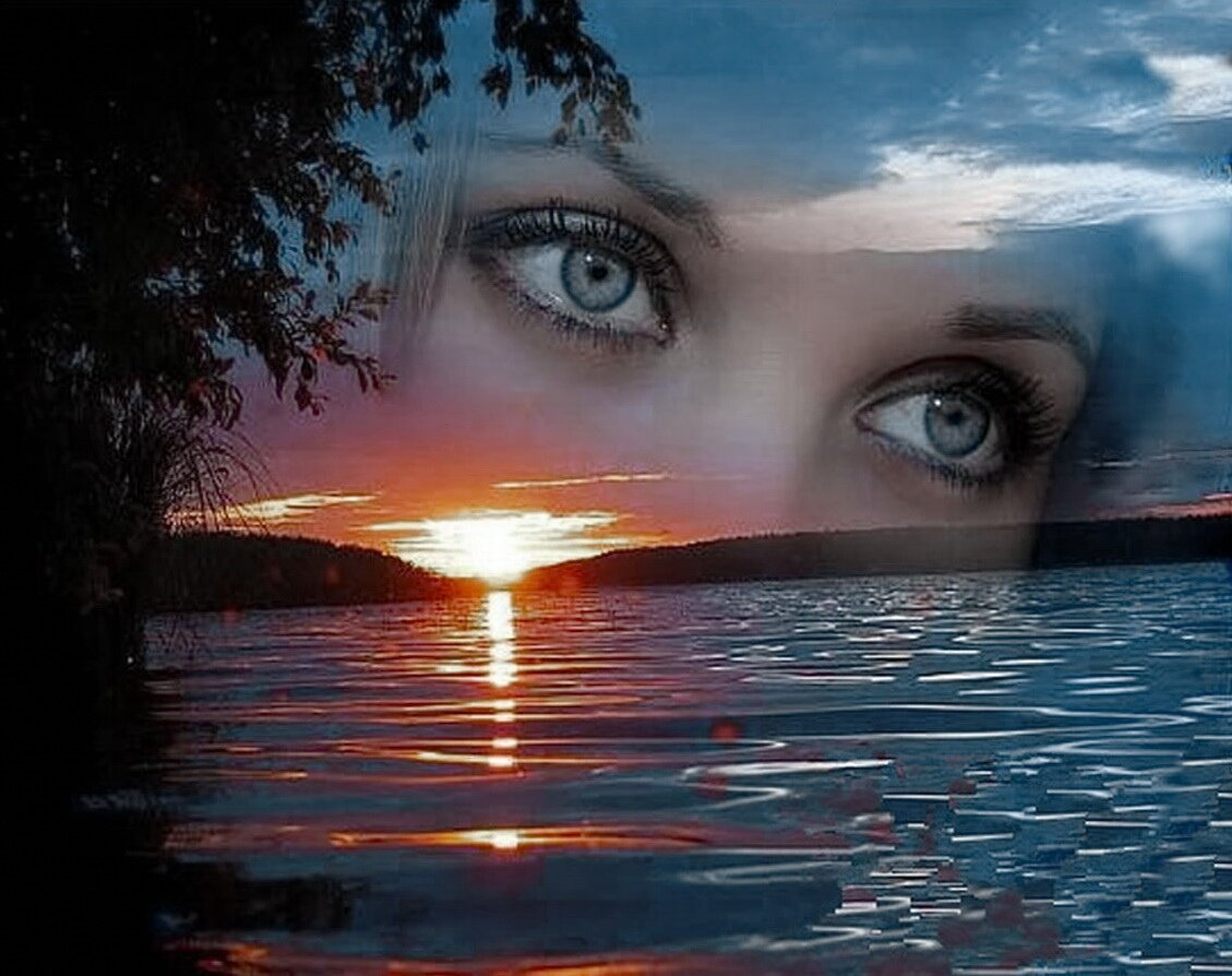 Днем милиции, открытки женские глаза