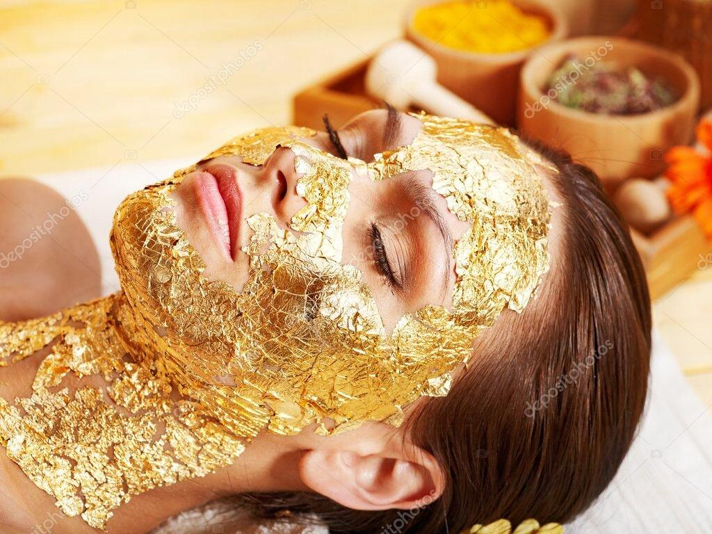Kaprielle - омолаживающая маска из сусального золота в Экибастузе