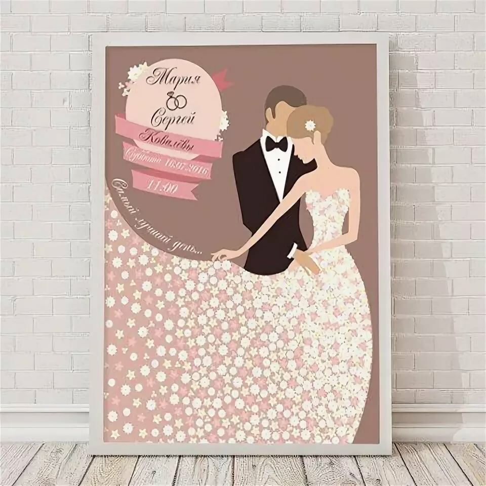 плакат с днем свадьбы шаблон обочинам