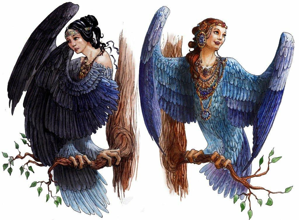 зоны мифические птицы древних славян изображения так, что
