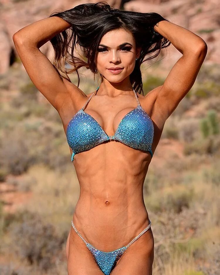 Muscular and defined fitness
