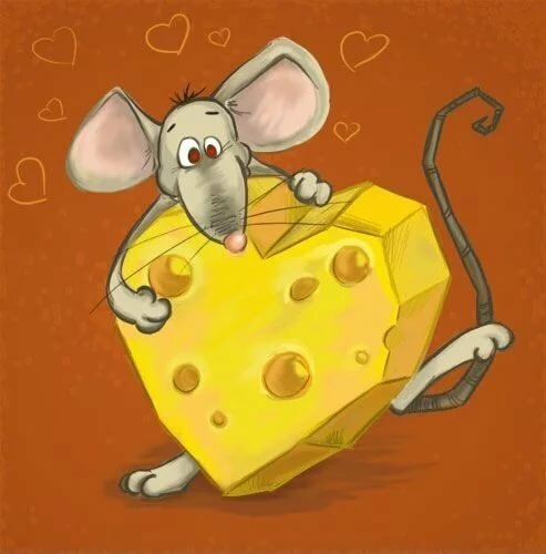 Пятница, смешные картинки мышей с сыром