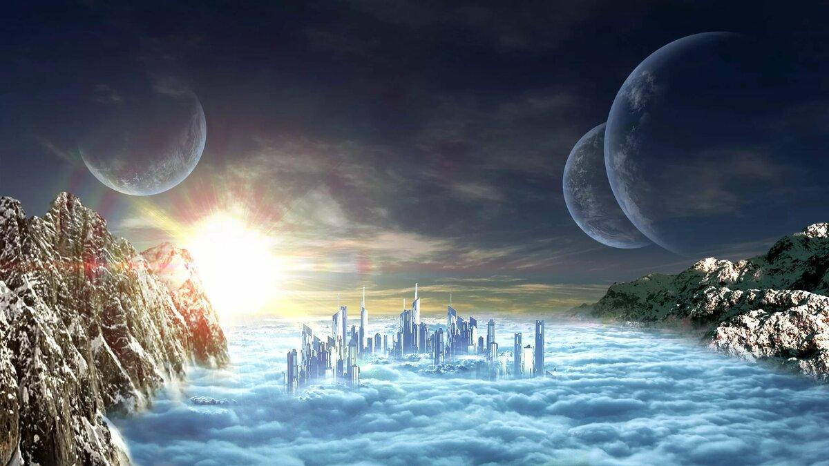 другие миры космоса картинки