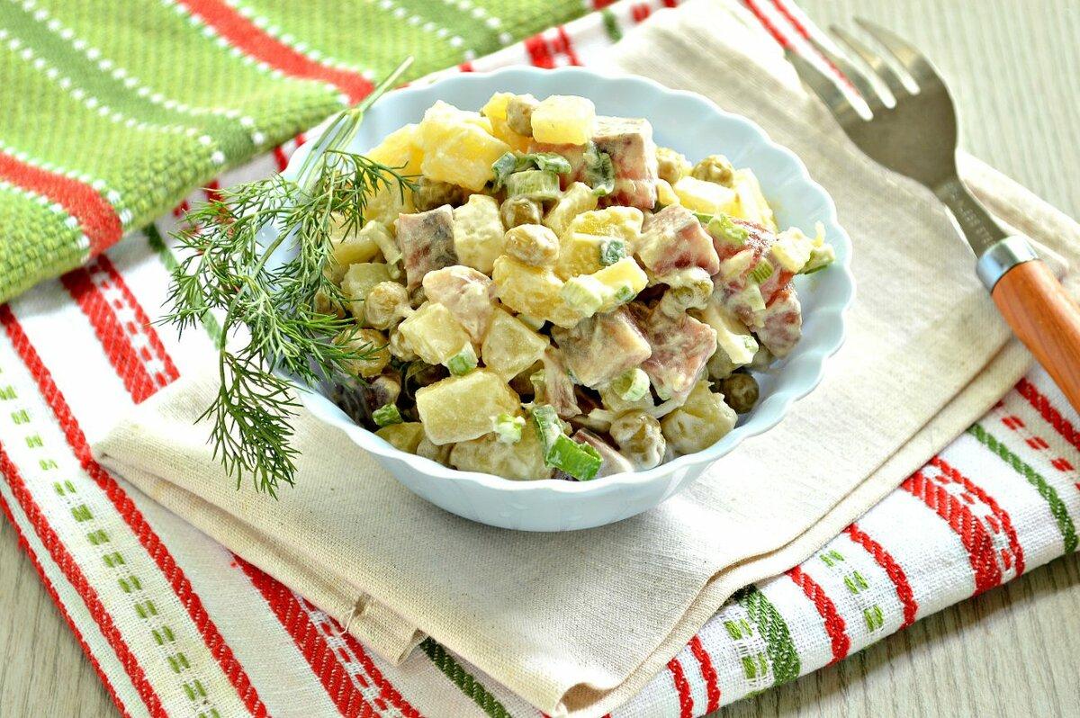 Поваренок салаты рецепты с фото простые