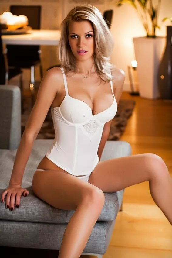 British blonde escort