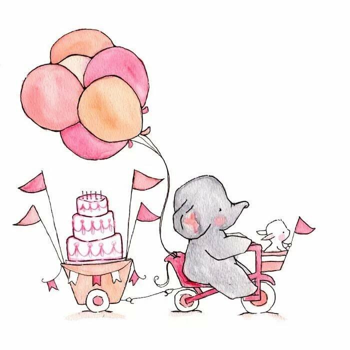 Картинки для открытки на день рождения для срисовки, редакции газеты