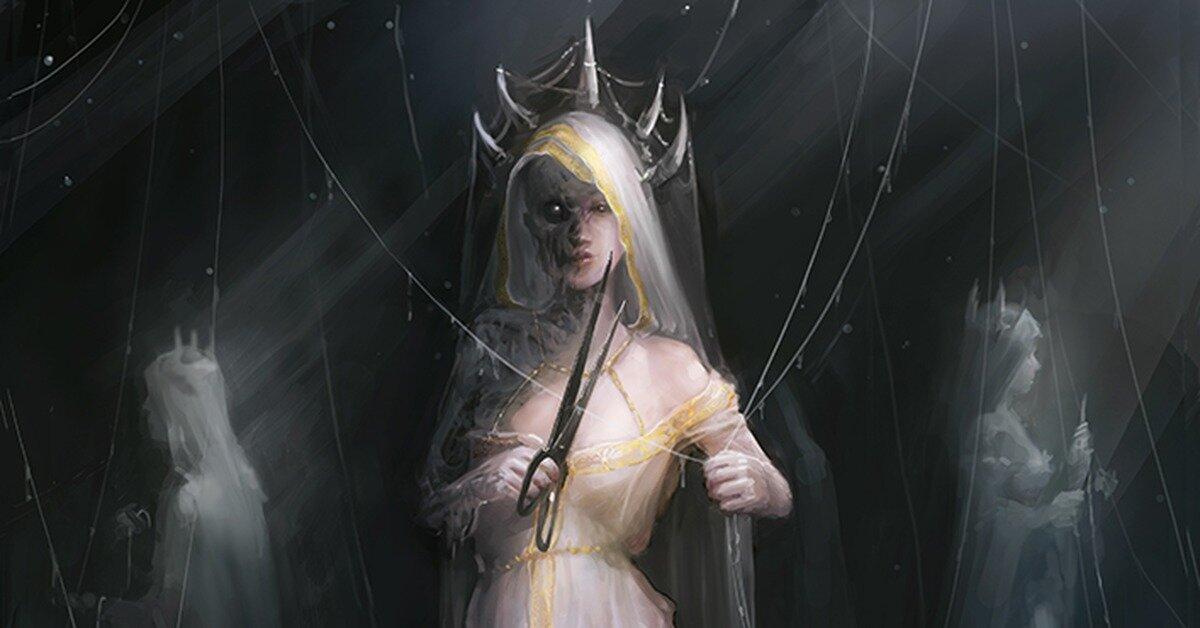 картинка богини атропос уже
