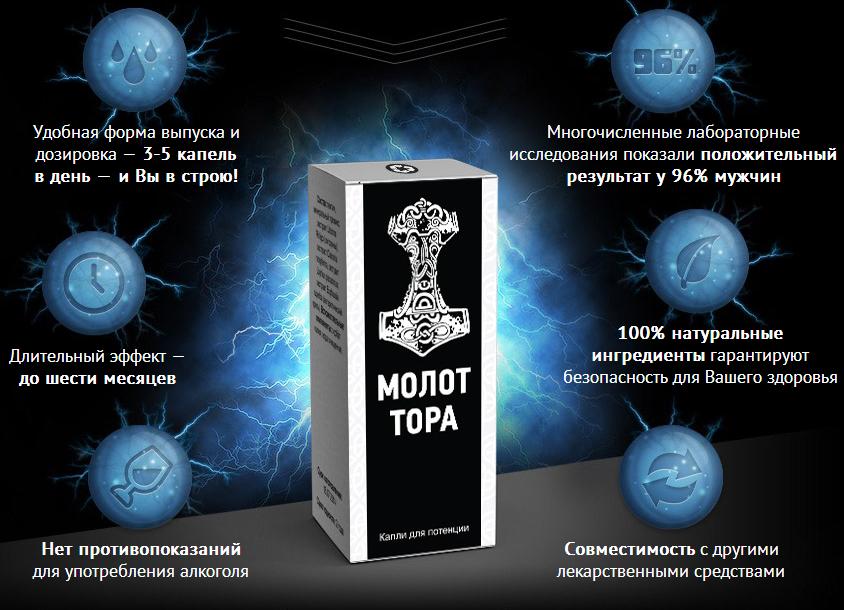 Капли МОЛОТ ТОРА в Новокуйбышевске