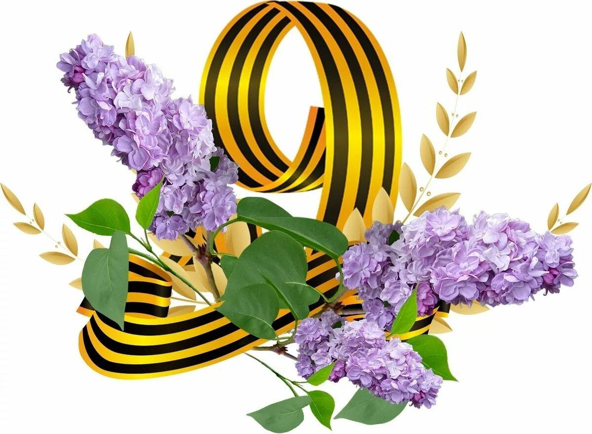 Картинка торс, цветы для открытки 9 мая