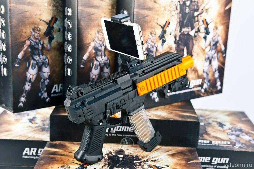 AR Game Gun - автомат дополненной реальности в Липецке