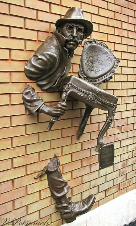 еще скульптуры смешные картинки ведёт свою деятельность