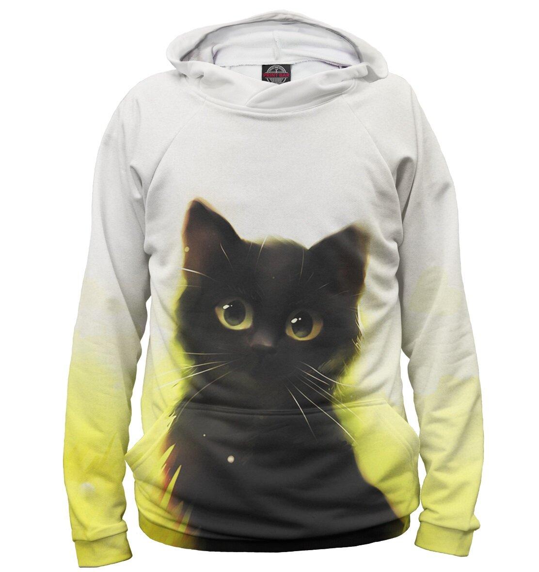 устранить картинки кошек на одежде шил