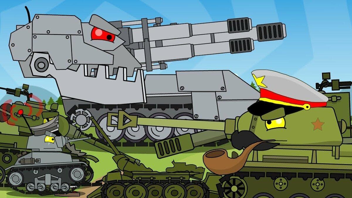 Картинки из мультики про танки, днем рождения