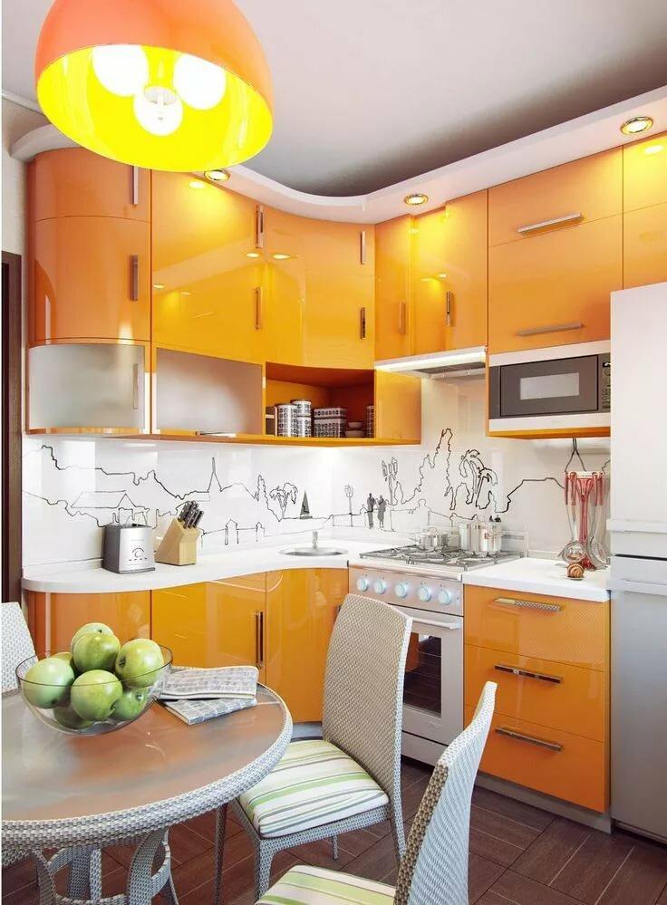 картинки с ремонтом маленьких кухонь мебельный