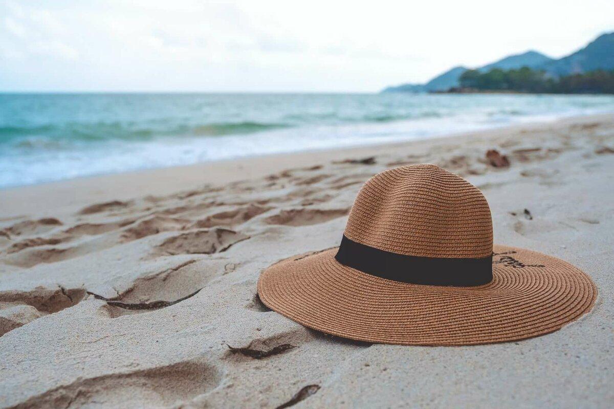 Шляпы для моря картинки
