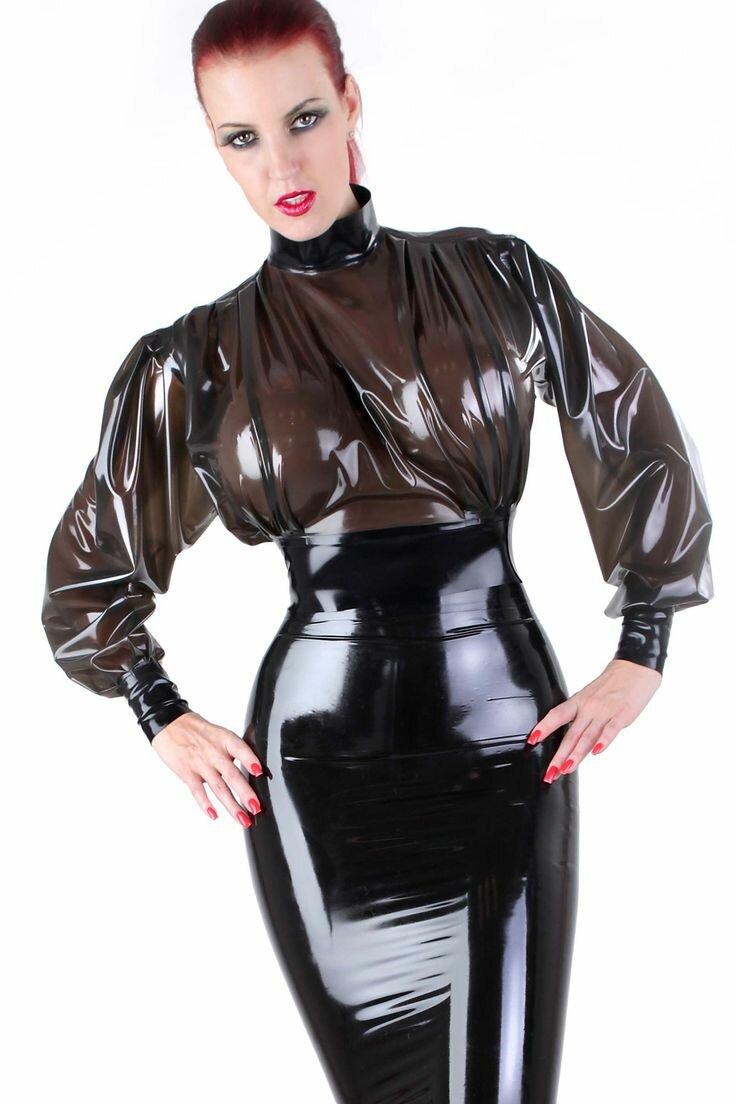 Fetish fashion clothing bondage leather fetish wear