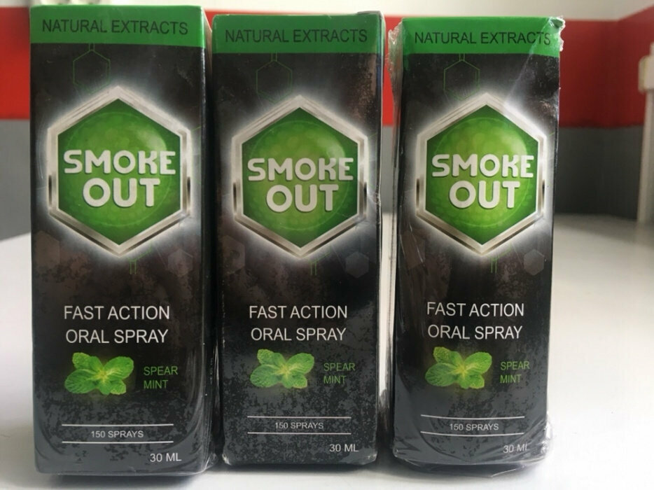Smoke Out - спрей против курения в Виннице