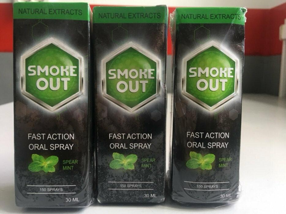 Smoke Out - спрей против курения в Симферополе