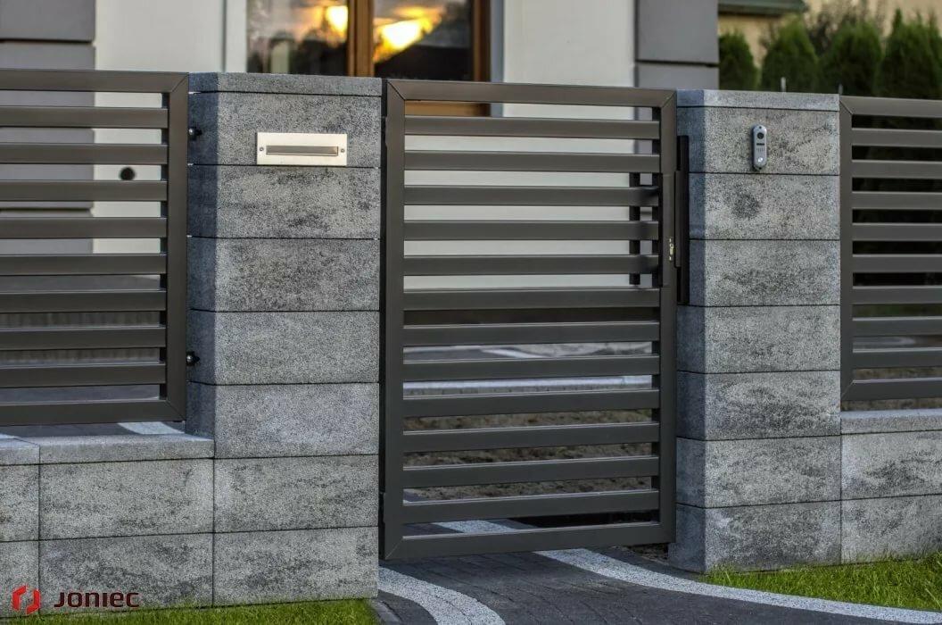 модульные бетонные заборы