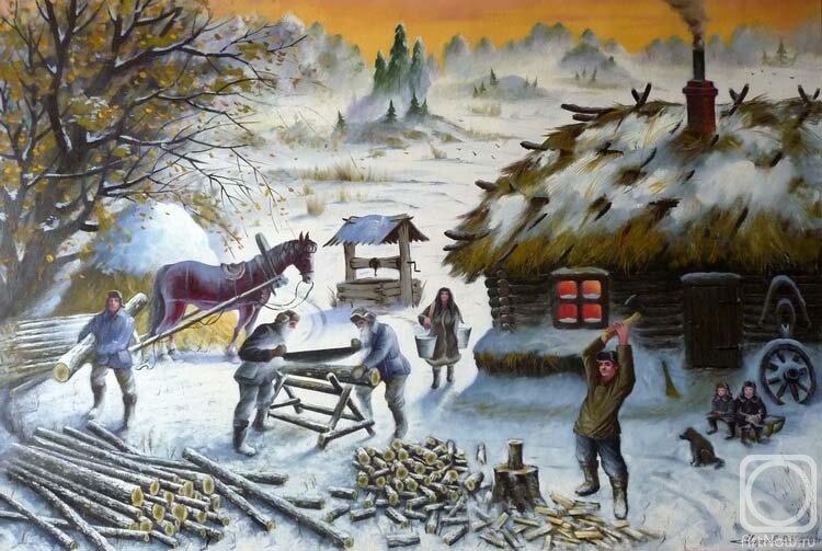 Картинки работа людей зимой