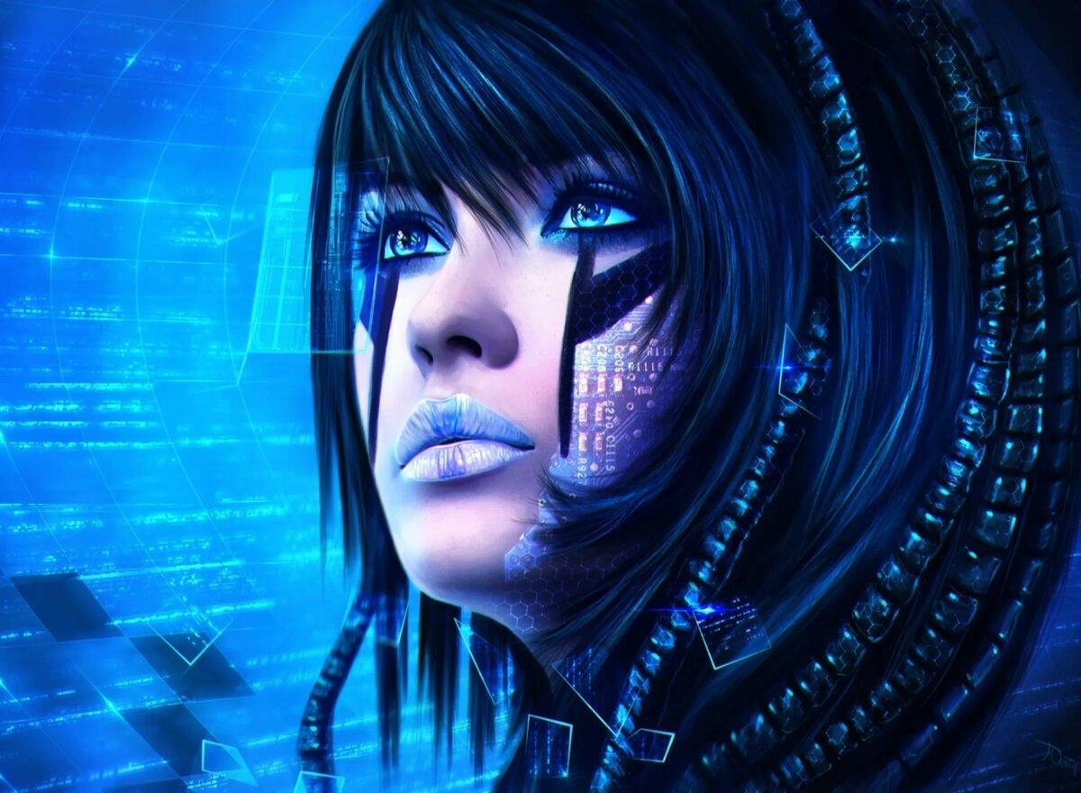 Картинки кибер девушки