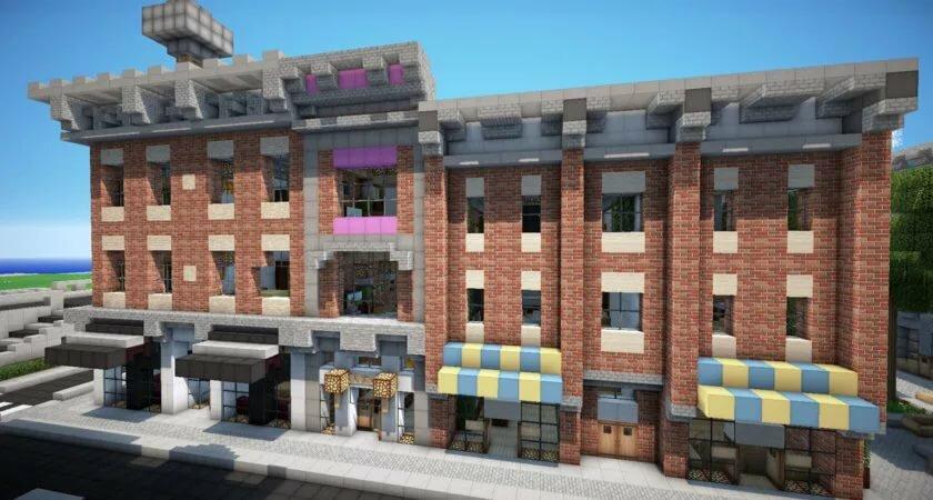 городские дома в майнкрафте фото щадит