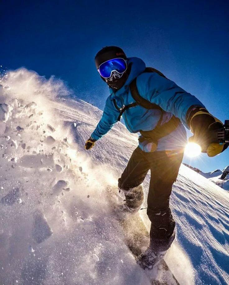 Сноубордисты в картинках