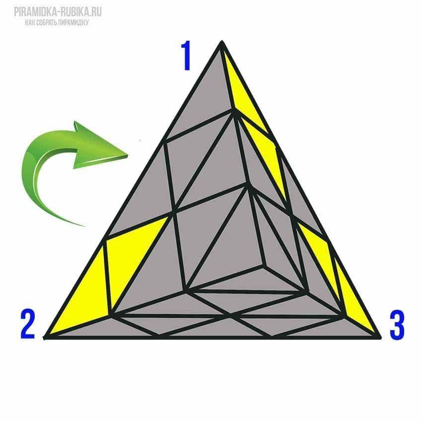 украсить схема сборки кубика рубика пирамиды для начинающих в картинках самые